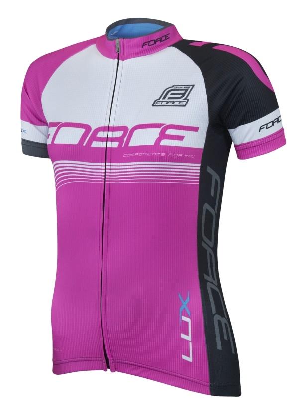 FORCE - dres  LUX dámský krátký rukáv růžový