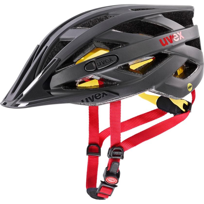 UVEX - helma I-VO CC MIPS TITAN - RED MAT