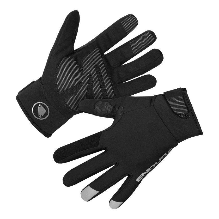 ENDURA - voděodolné rukavice Strike černá