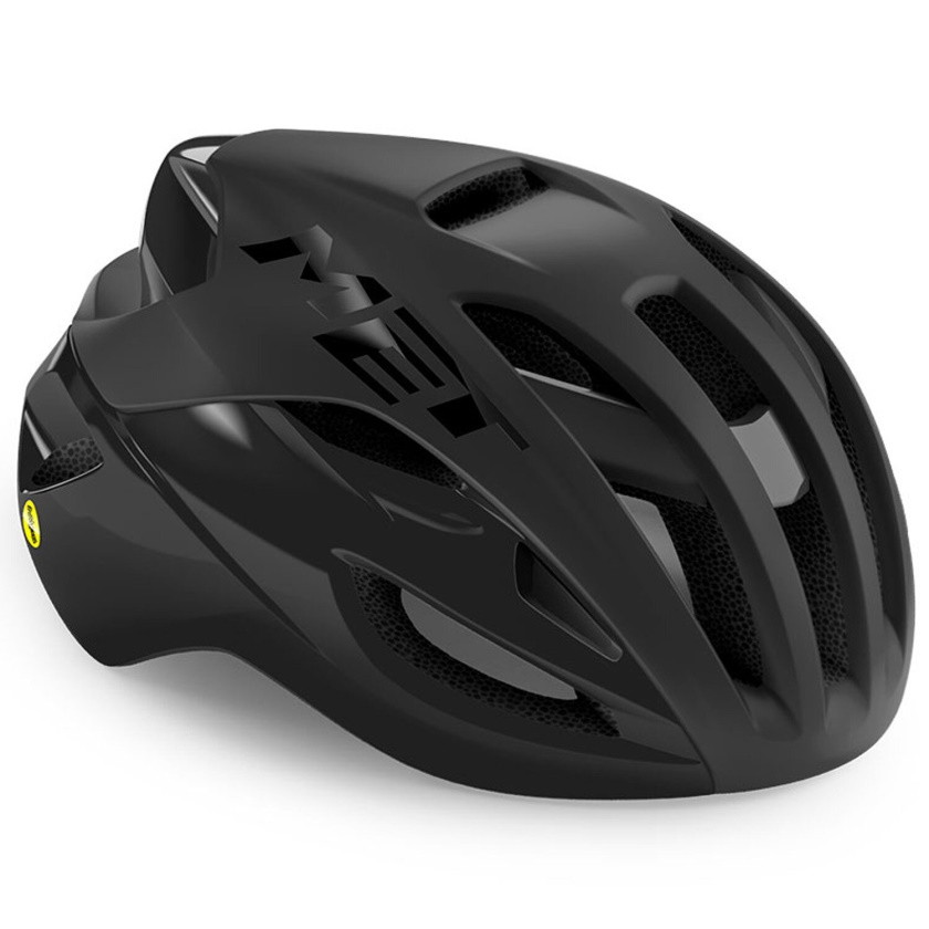 MET - helma RIVALE MIPS černá matná/lesklá