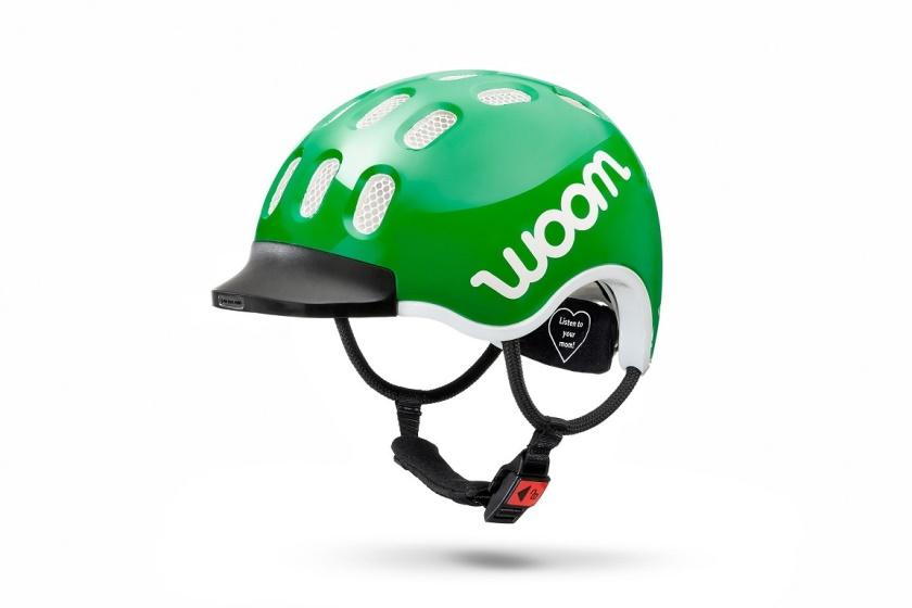 WOOM - dětská helma GREEN 2020
