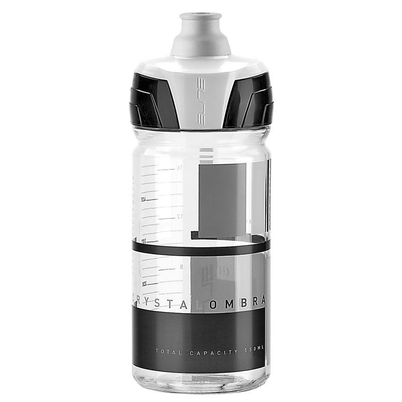 ELITE láhev CRYSTAL OMBRA čirá/šedá 550 ml