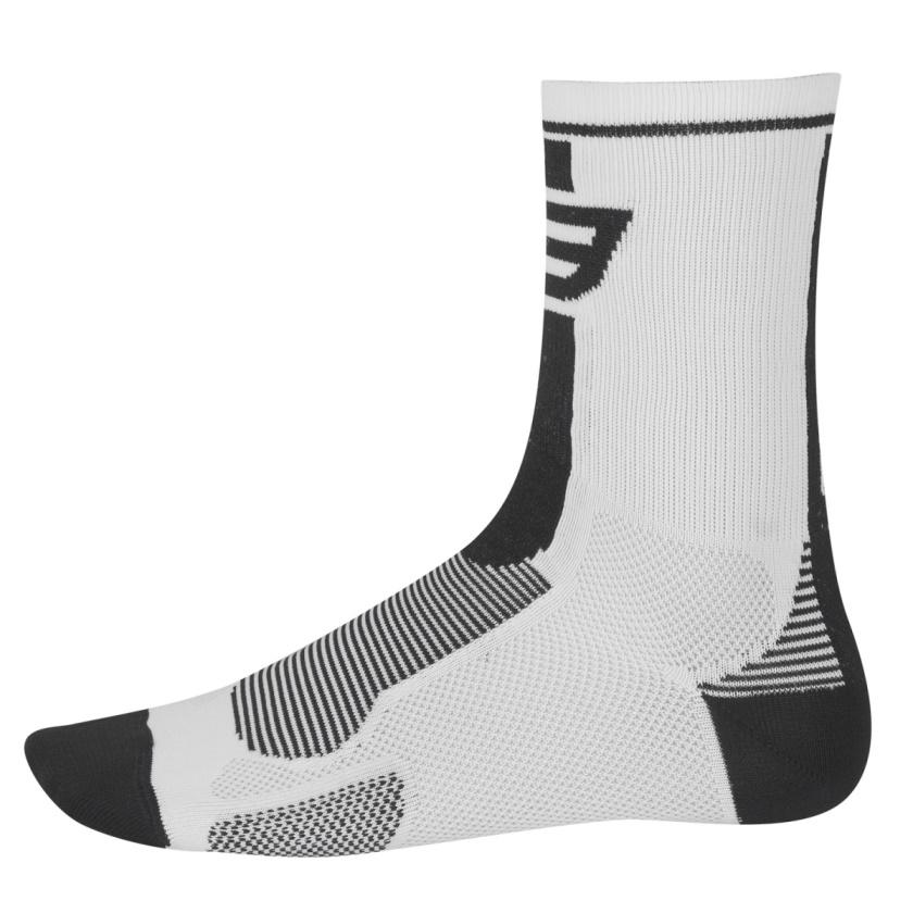 FORCE - ponožky  LONG, bílo-černé