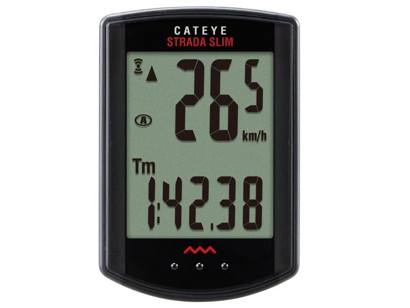 CATEYE Cyklopočítač CAT Strada Wireless - MTB (černá)