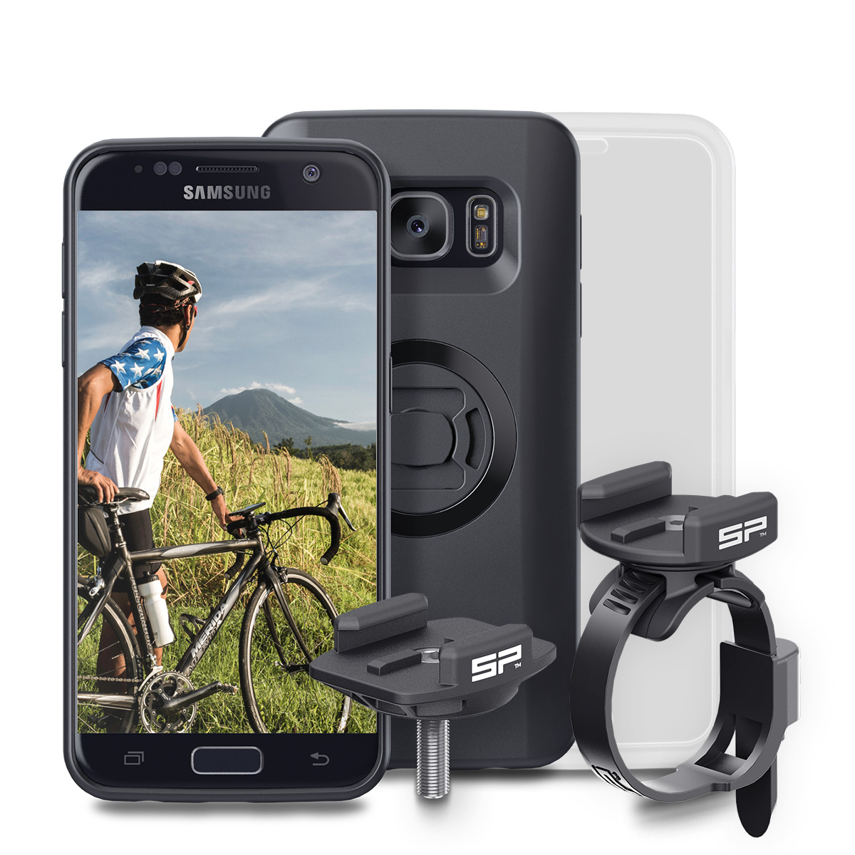 SP Connect Bike Bundle Samsung S7 - Držáky sada SP Bike Bundle Iphone a Samsung samsung galaxy s7