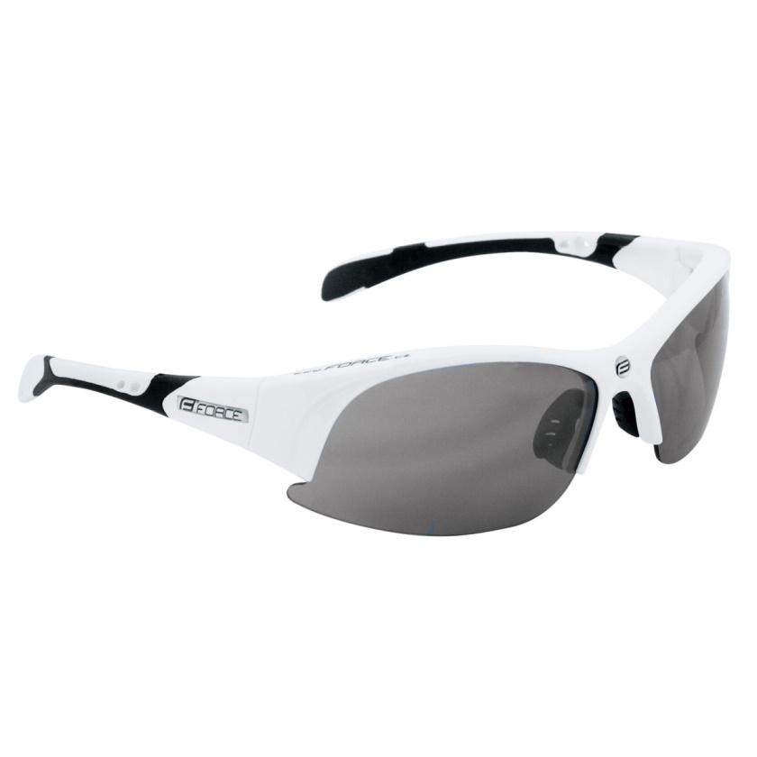 FORCE - brýle  ULTRA bílé, černá laser skla
