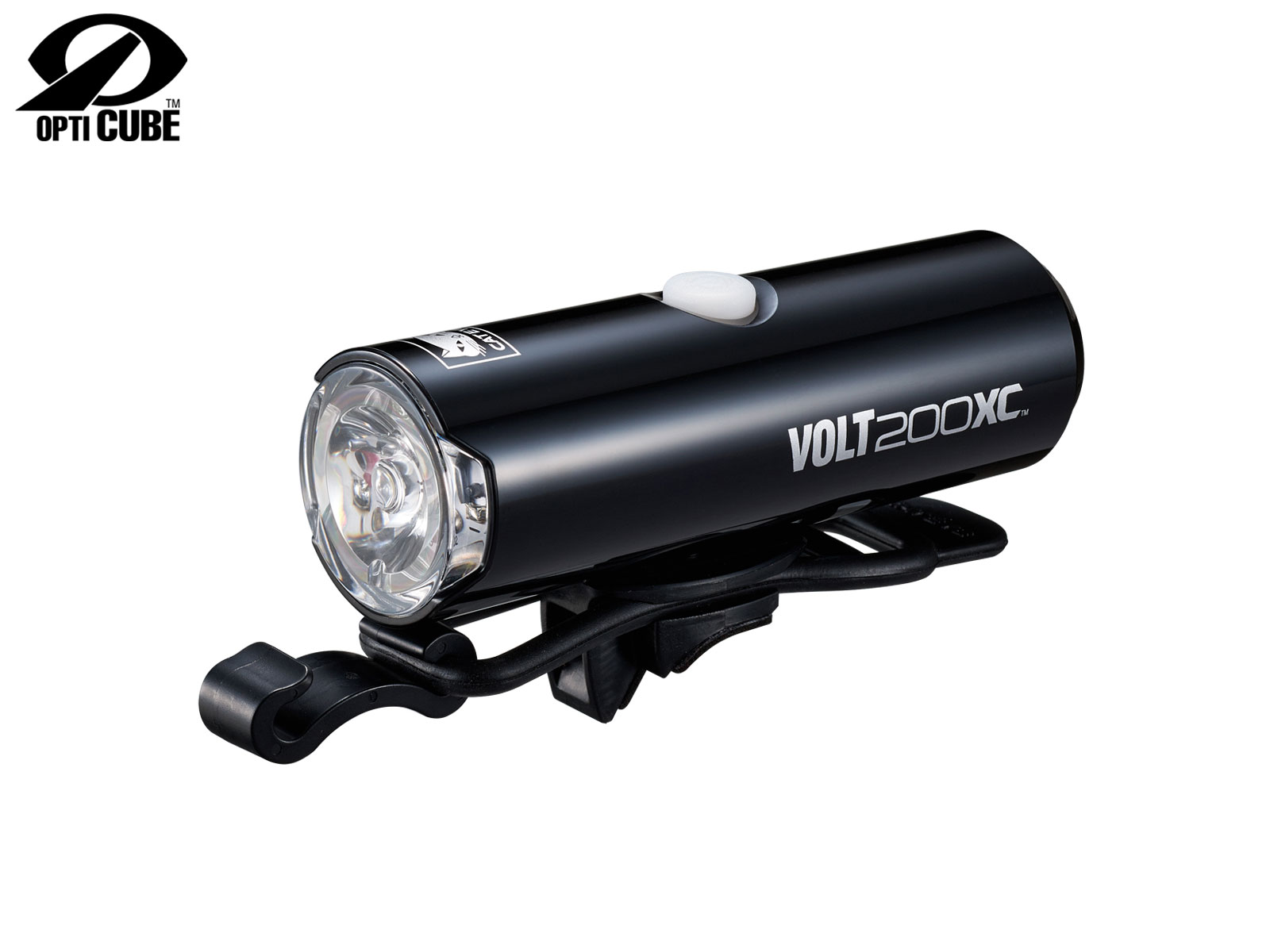 Cateye Světlo př. Cat HL-El060Rc Volt200XC černá