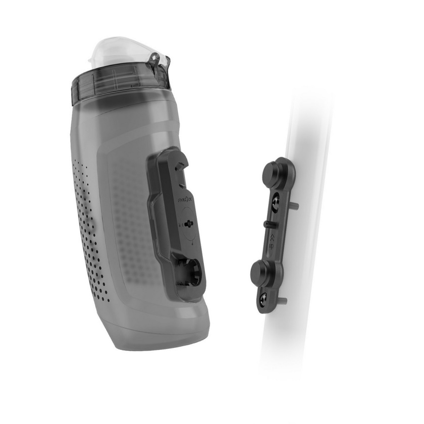 FIDLOCK - set láhve s držákem BOTTLE TWIST DARK 590ml
