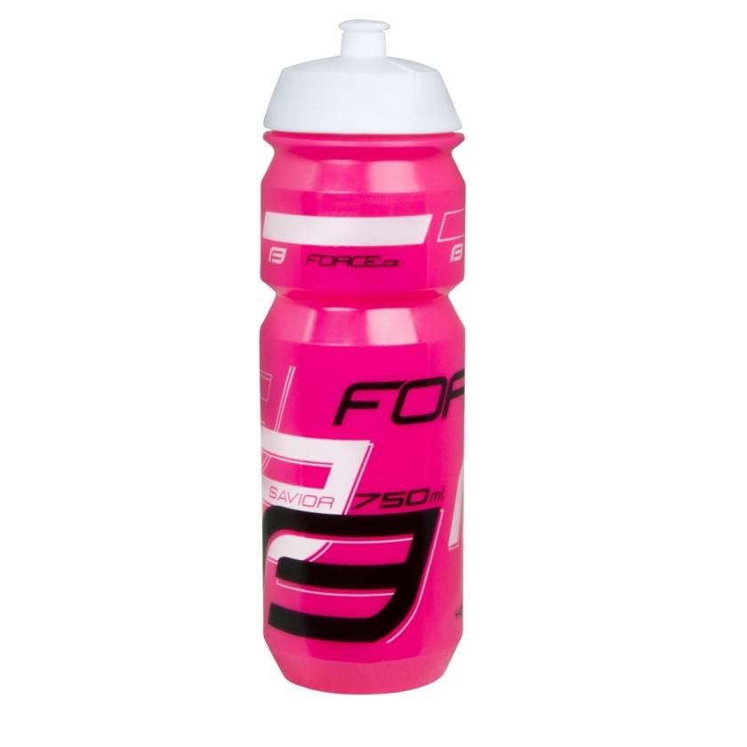 FORCE - láhev  SAVIOR 0,75 l, růžovo-bílo-černá