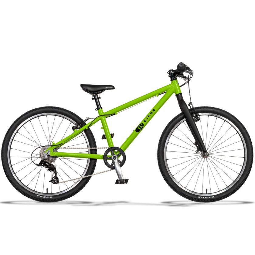 KUBIKES - dětské kolo 24L MTB zelená