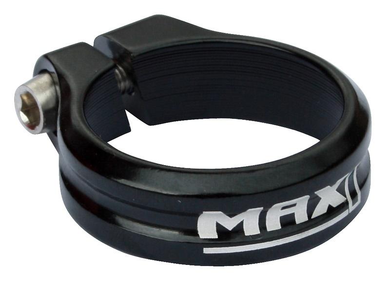 MAX1 - sedlová objímka Race 34,9mm imbus černá