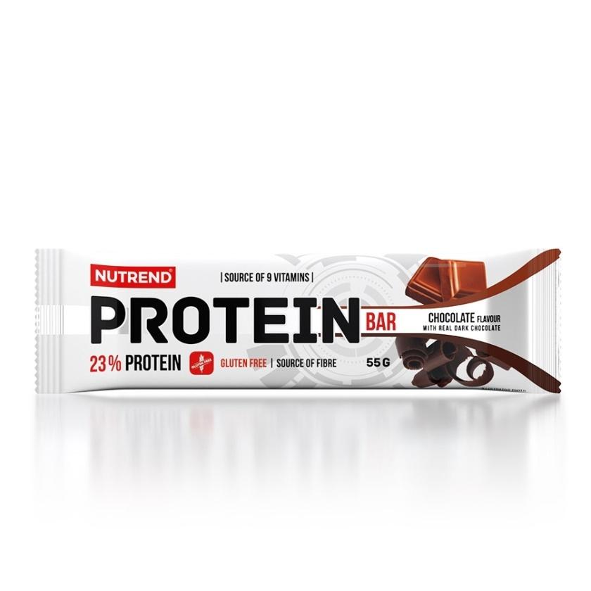 NUTREND - PROTEIN BAR 55 g čokoláda