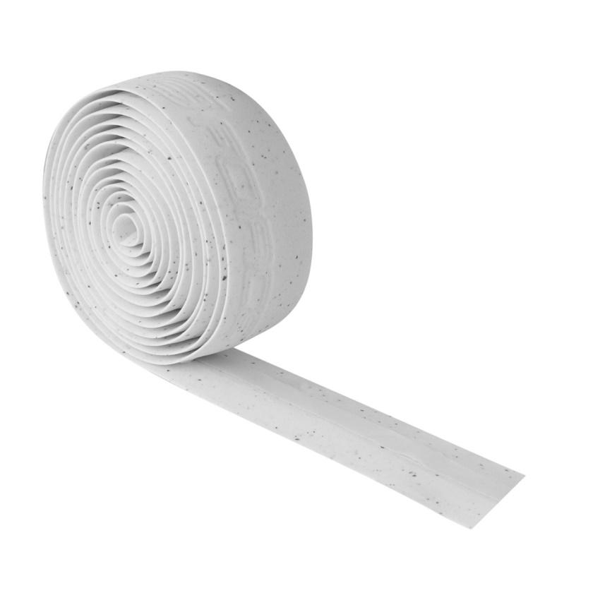 FORCE - omotávka  korková s vytláčeným logem, bílá