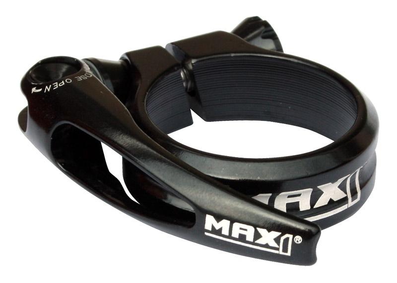 MAX1 - sedlová objímka Race 34,9mm rychloupínací černá