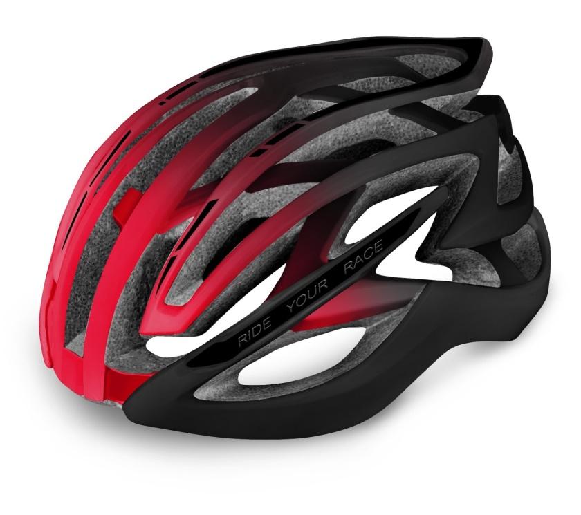 R2 - helma EVO 2.0 černá/červená L 58-61 cm