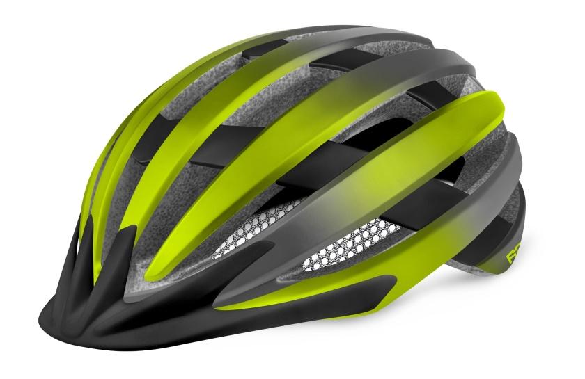 R2 - helma VENTU neon žlutá/černá