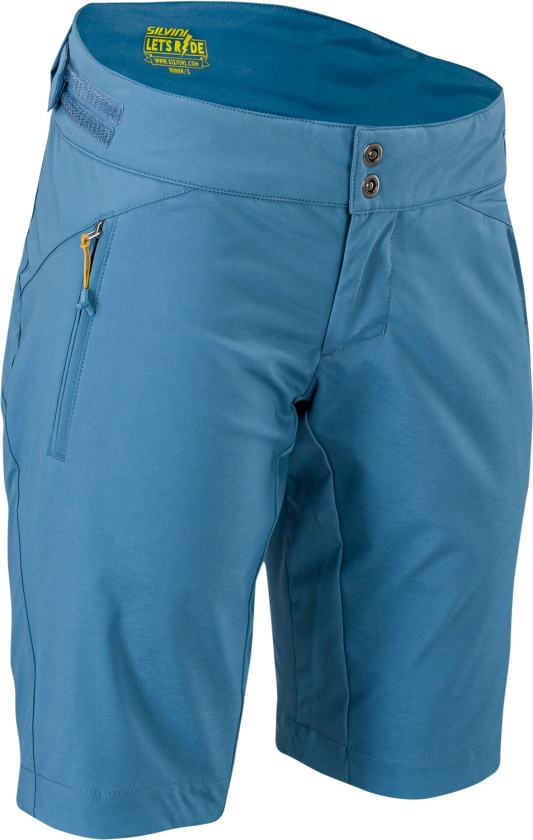 SILVINI - MTB šortky PATRIA blue-yellow