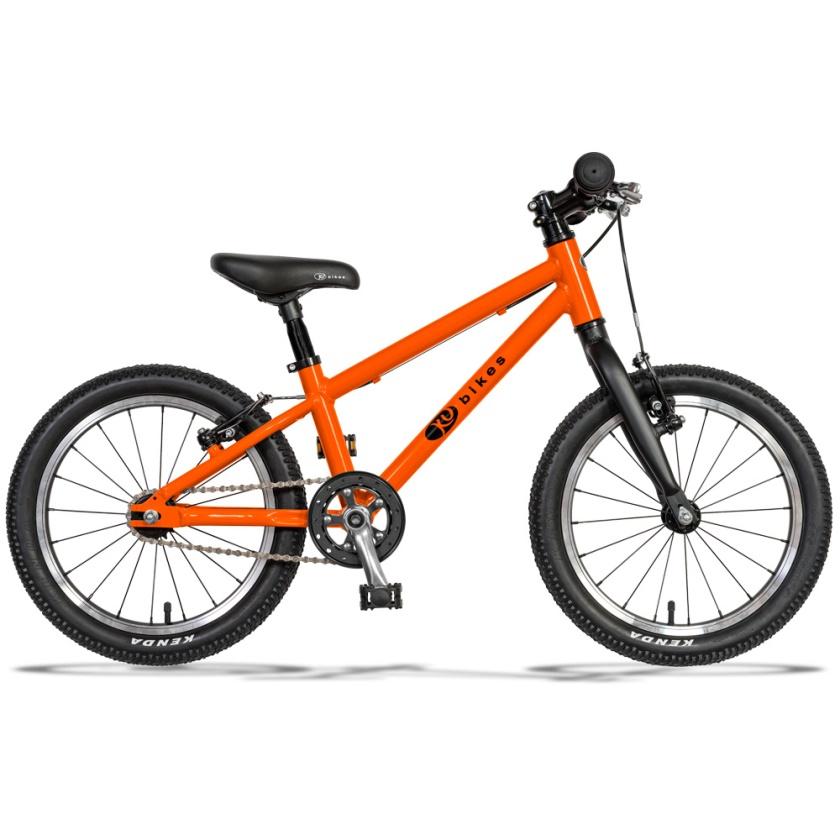 KUBIKES - dětské kolo 16L MTB oranžová
