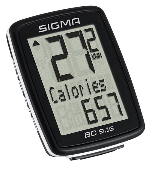 Sigma cyklo computer BC 9.16, drátový
