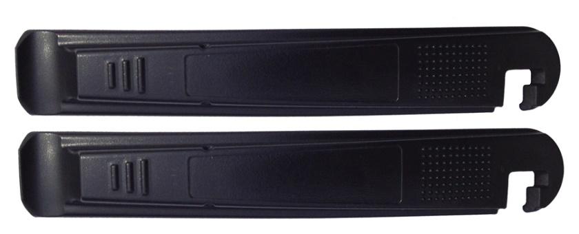 MAX1 - montpáky 2ks černé plastové