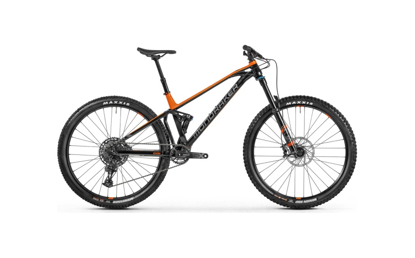 MONDRAKER - Foxy black/orange/grey 2021