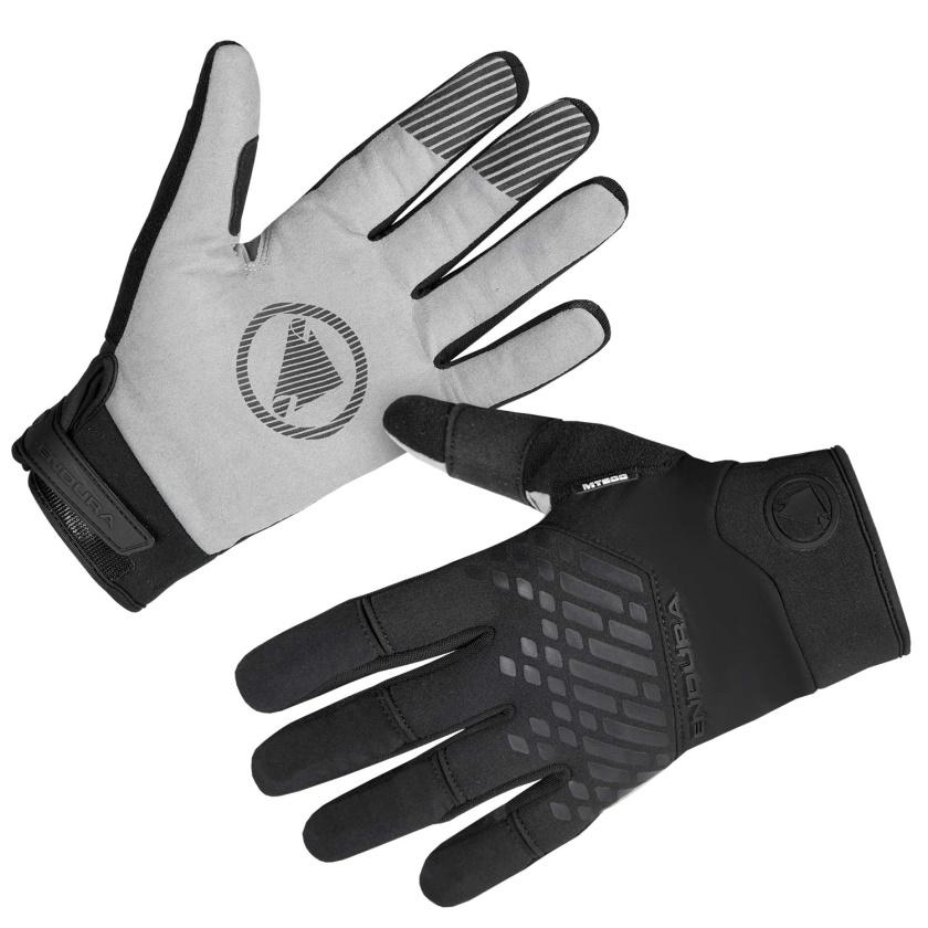 ENDURA Voděodolné rukavice MT500: Černá
