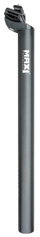 MAX1 - sedlovka Al 25,6/400mm černá