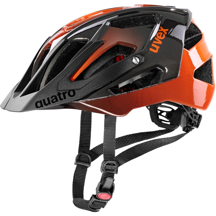 UVEX - helma QUATRO TITAN - ORANGE