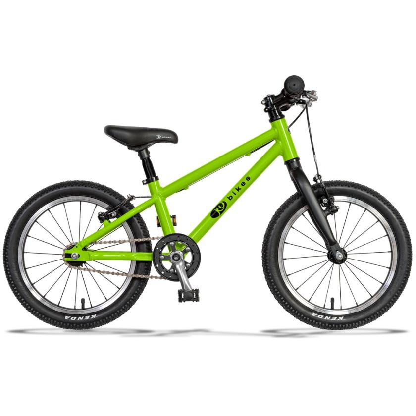 KUBIKES - dětské kolo 16L MTB zelená