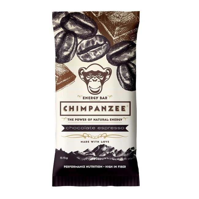 CHIMPANZEE -  ENERGY BAR Chocolate Espresso 55g