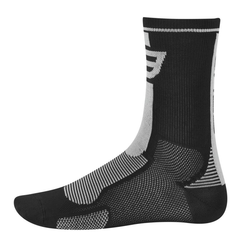 FORCE - ponožky  LONG, černo-šedé
