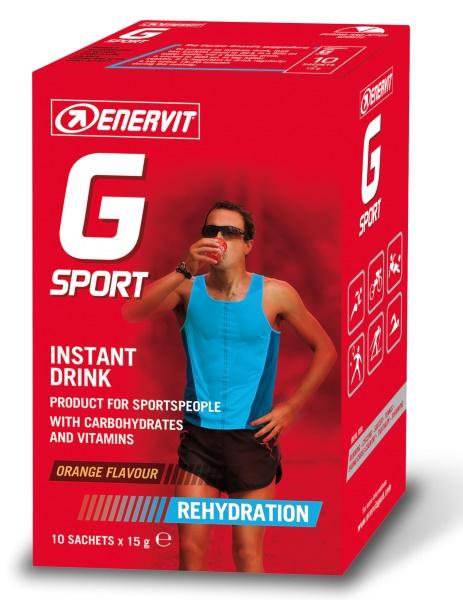 ENERVIT - Isotonic Drink (G Sport) pomeranč (10x15g)