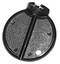 BASIC - Centrovací klíč plast černý 3,45 mm