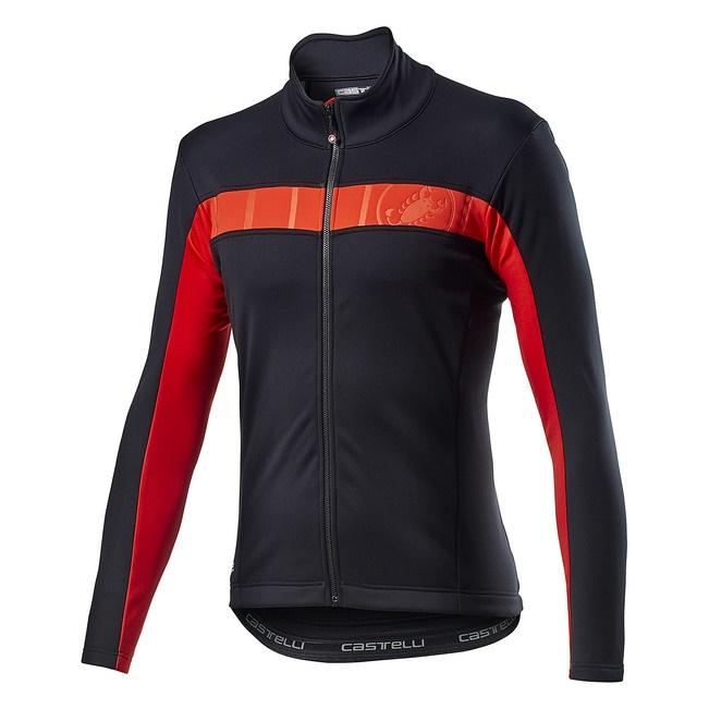 CASTELLI fleece bunda MORTIROLO VI light black