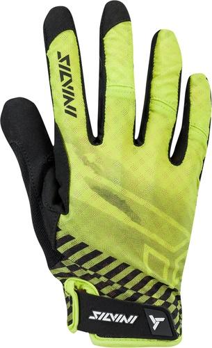 SILVINI - rukavice celoprsté GATTOLA lime-black