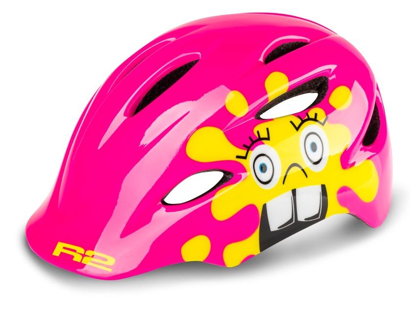 R2 dětská helma DUCKY růžová XS: 48-52 cm