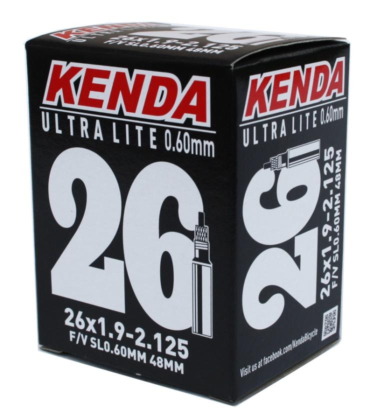 KENDA - duše 26X1,75-2,125 (47/57-559) 48mm 120g (+-5g) Ultralite