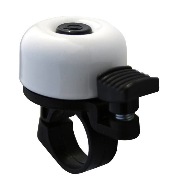 VELOBEL - zvonek mini bílý